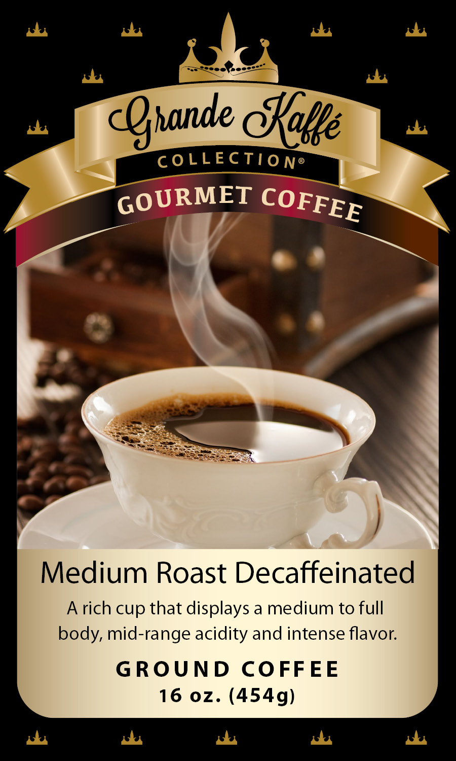 Medium Roast Decaf Coffee
