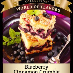 Blueberry Cinnamon Crumble
